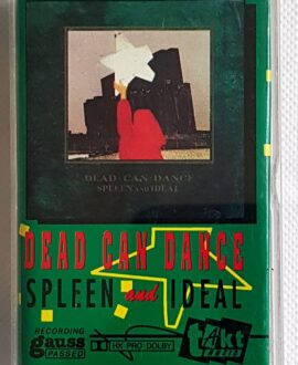 DEAD CAN DANCE SPLEEN AND IDEAL audio cassette