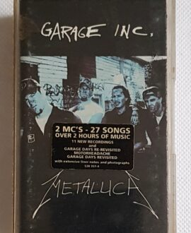 METALLICA GARAGE INC. 2x audio cassette