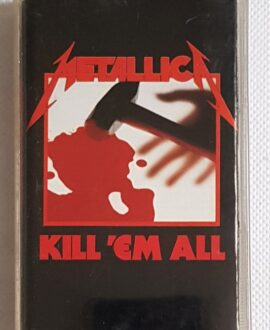 METALLICA KILL 'EM ALL audio cassette