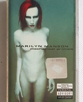 MARYLIN MANSON MECHANICAL ANIMALS audio cassette