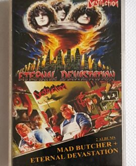 DESTRUCTION MAD BUTCHER+ETERNAL DEVASTATION audio cassette