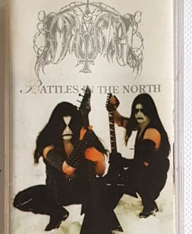 IMMORTAL BATTLES IN THE NORTH audio cassette