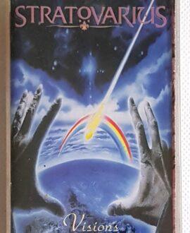 STRATOVARIUS VISIONS audio cassette