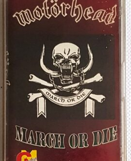 MOTORHEAD MARCH OF DIE audio cassette