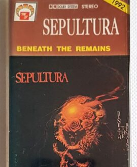 SEPULTURA BENEATH THE REMAINS audio cassette