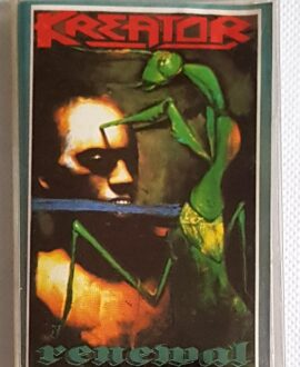 KREATOR RENEWAL audio cassette