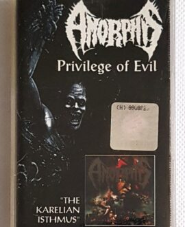 AMORPHIS PRIVILEGE OF EVIL audio cassette