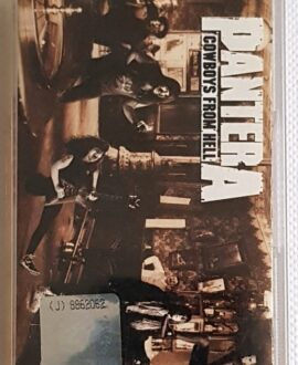 PANTERA COWBOYS FROM HELL audio cassette
