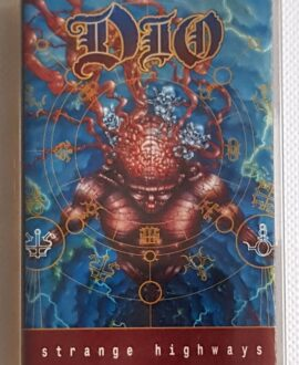 DIO STRANGE HIGHWAYS audio cassette