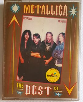 METALLICA THE BEST OF...double album 2x audio cassette