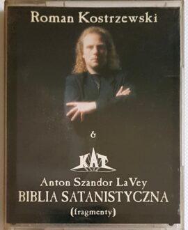 ROMAN KOSTRZEWSKI & KAT BIBLIA SATANISTYCZNA 2 x audio cassette