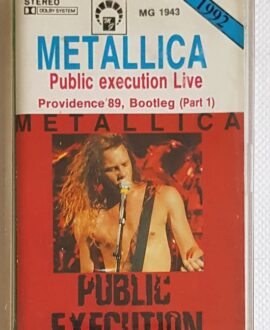 METALLICA PUBLIC EXECUTION LIVE audio cassette