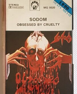 SODOM OBSESSED BY CRUELTY audio cassette