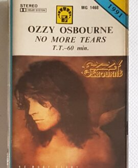OZZY OSBOURNE NO MORE TEARS audio cassette