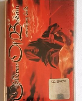 CHILDREN OF BODOM SOMETHING WILD audio cassette