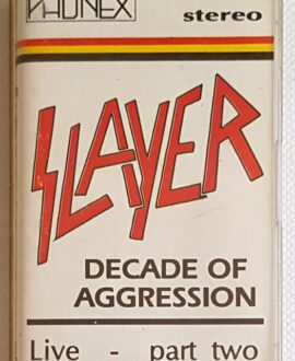 SLAYER DECADE OF AGGRESSION vol.2 audio cassette