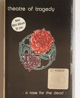 THEATRE OF TRAGEDY A ROSE FOR THE DEAD audio cassette
