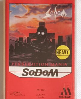 SODOM PERSECUTION MANIA audio cassette