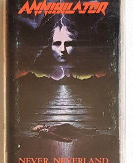ANNIHILATOR NEVER, NEVERLAND audio cassette