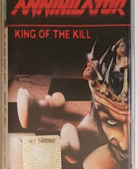 ANNIHILATOR KING OF THE KILL audio cassette