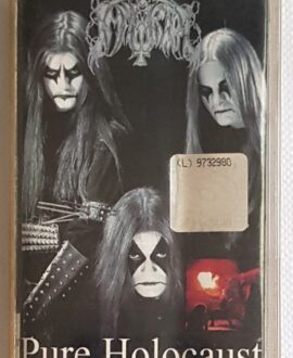 IMMORTAL DIABOLICAL FOOLMOON MYSTYCISM PURE HOLOCAUST audio cassette