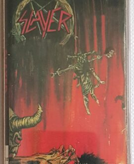 SLAYER HELL AWAITS audio cassette