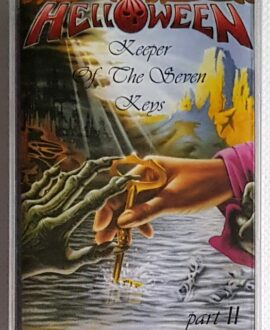 HELLOWEEN KEEPER OF THE SEVEN KEYS audio cassette