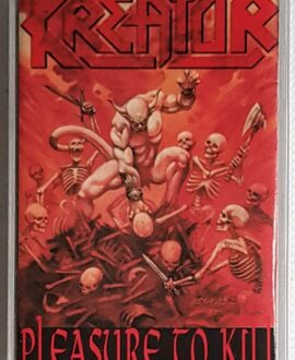 KREATOR PLEASURE TO KILL audio cassette