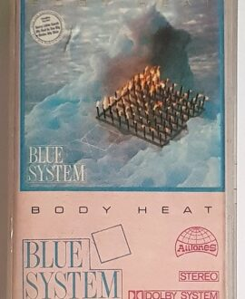 BLUE SYSTEM BODY HEAT audio cassette