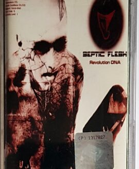 SEPTIC FLESH REVOLUTION DNA audio cassette