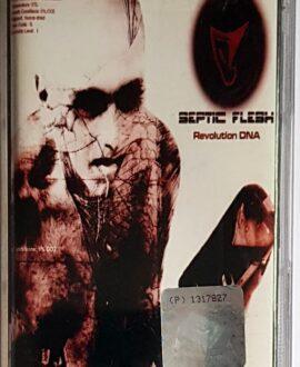 SEPTIC FLESH REVOLUTION DNA audio cassette