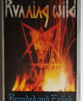RUNNING WILD BRANDED & EXILED audio cassette