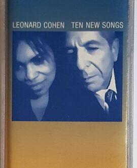 LEONARD COHEN THE NEW SONGS audio cassette
