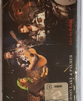 EMERSON LAKE & PALMER LIVE IN POLAND audio cassette