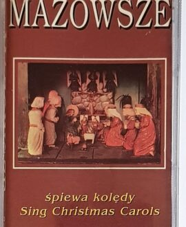 MAZOWSZE SINGS CHRISTMAS CAROLS audio cassette