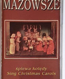 MAZOWSZE SINGS CHRISTMAS CAROLS audio cassette