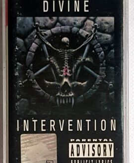 SLAYER DIVINE INTERVENTION audio cassette