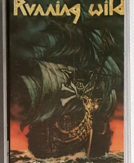 RUNNING WILD UNDER JOLLY ROGER audio cassette