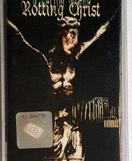 ROTTING CHRIST KHRONOS audio cassette