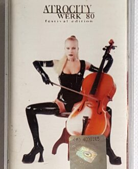 ATROCITY WERK 80 FESTIVAL EDITION audio cassette