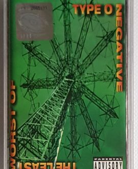 TYPE O NEGATIVE THE LEAST WORST OF audio cassette