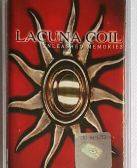 LACUNA COIL UNLEASHED MEMORIES audio cassette