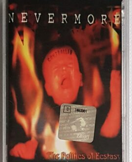 NEVERMORE THE POLITICS OF ECSTASY audio cassette