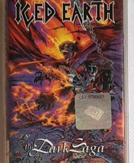 ICED EARTH THE DARK SAGA audio cassette