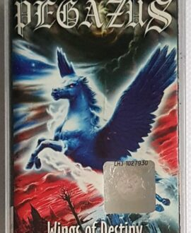PEGAZUS WINGS OF DESTINY audio cassette
