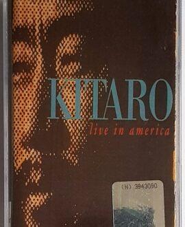 KITARO LIVE IN AMERICA audio cassette