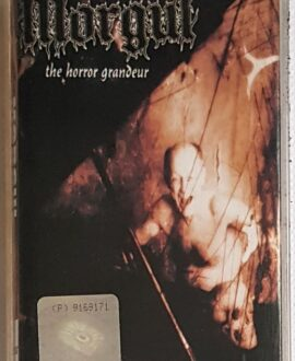 MORGUL THE HORROR GRANDEUR audio cassette