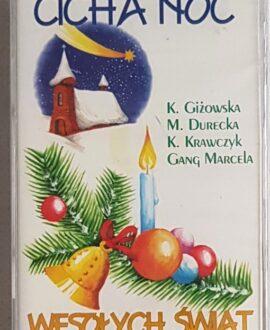 WESOŁYCH ŚWIĄT,CICHA NOC G.MARCELA, K.KRAWCZYK.. audio cassette