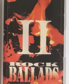 ROCK BALLADS II BAJM, TSA.. audio cassette