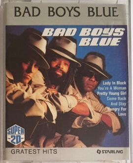 BAD BOYS BLUE GREATEST HITS 2MC...audio cassette